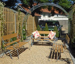 Bespoke Wrought Iron And Wood Garden Bench Seats Handmade